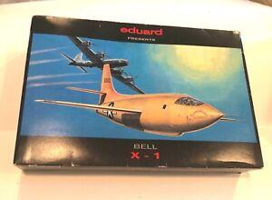 EDUARD BELL X-1, 1:48, New in box, Kit 8026
