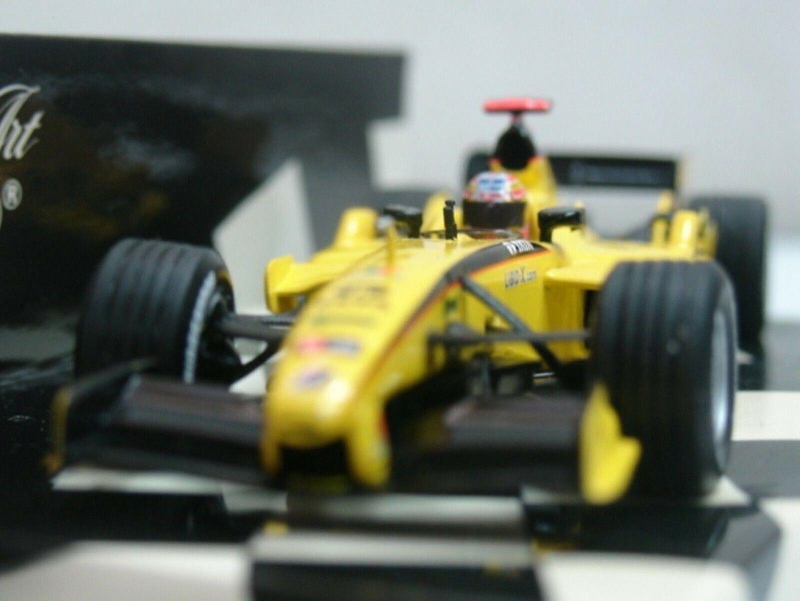 WOW EXTREMELY RARE Jordan EJ15 Monteiro GP USA 2005  1st podium 1 43 Minichamps  jusqu'à 60% de réduction