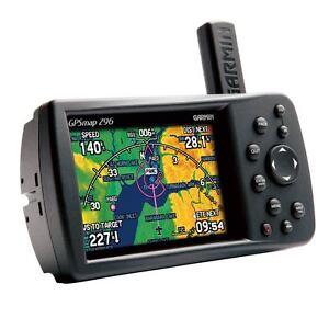 garmin gps 296 color aviation pilot portable gpsmap bundle 295 396 rh ebay co uk Garmin 495 Manual Garmin 495 Owners Manuel