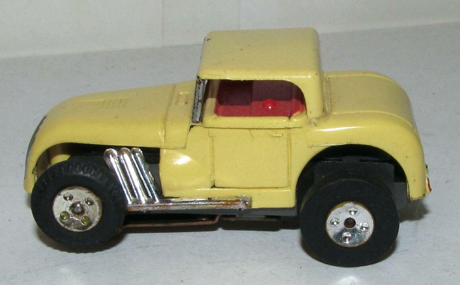 Aurora Tjet Hot Rod Coupe Ho ranura de de coche, amarillo con Interior Rojo  1366  hasta un 50% de descuento