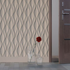 *ether* 3d Decorative Wall Panels 1 Pcs Abs Plastic Mold For Plaster Ceramics & Pottery