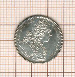 Jeton-argent-Louis-XV-cite-de-Cambrai
