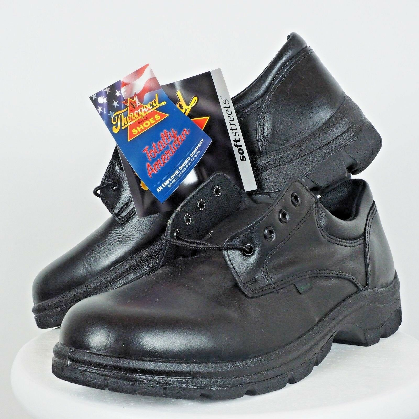 Scarpe casual da uomo  Thorogood 834-6905 USA Resistant Made Postal Certified Slip Resistant USA Oxford Size 14 M 41303a
