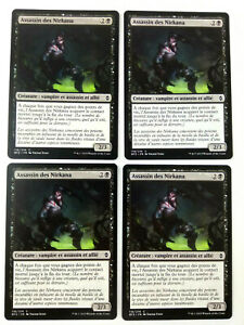 MTG-Magic-Playset-4x-Assassin-des-Nirkana-Bataille-de-Zendikar-NM-VF