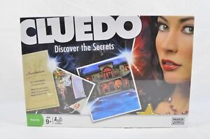 Cluedo Discover the Secrets Board Game by Parker 2008