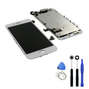 Vitre Tactile Ecran LCD complet Assemblé sur Chassis pour iPhone 7 Blanc