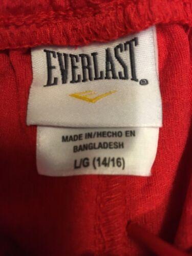 Everlast Boys Closed Mesh Short in Red