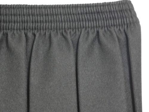 Kids School Uniform Polyester Box Pleated Elasticated waist Girls Skirt Age 2-18