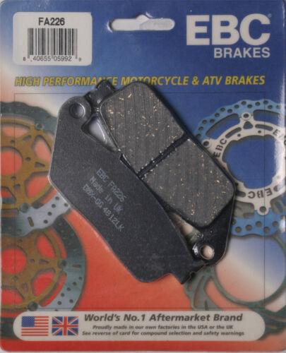Honda CB600F 599,CBR600F F3,CBR300R,CB300F,CBR250R Triumph, EBC BRAKE PADS Fits