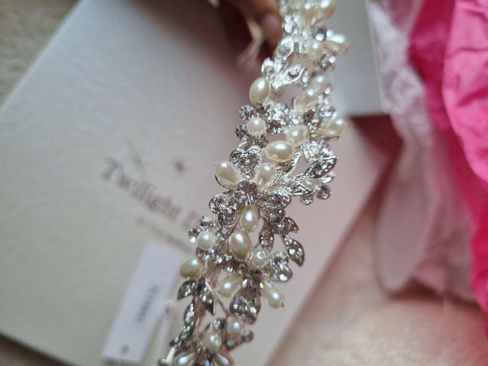Twilight designs wedding tiara (Unused new with tags)