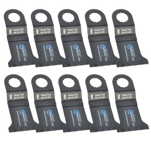 Versa Tool FB10B 45mm Bi-Metal Multi-Tool Saw Blades 10//Pack Fits Fein Supercut
