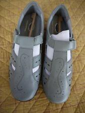 de7959ad3d1 DR. SCHOLL S Fisherman Women s Size 8 Gray Casual Sandals Shoes