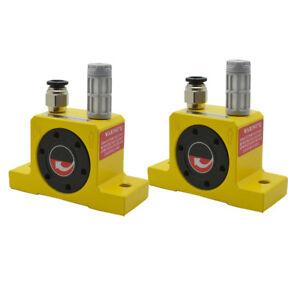"2x Industrial New Pneumatic G 1//4/"" Turbine Vibrators Golden GT-25"