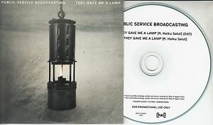 PUBLIC-SERVICE-BROADCASTING-They-Gave-Me-A-Lamp-UK-2-trk-promo-CD