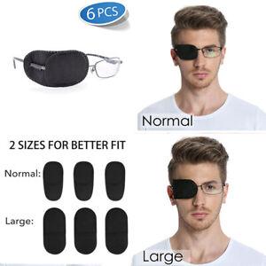 f65fe2f98ff9 FCAROLYN 6pcs Eye Patch for Glasses to Treat Lazy Eye/Amblyopia ...