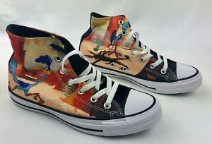 Converse-Chuck-Taylor-Looney-Tunes-HiTop-Road-Runner-161188C-Mens-Size-6-NEW
