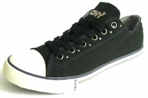 LADIES CASUAL CANVAS TRAINER STYLE SHOES (PONY 121X48)