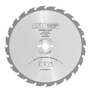 LAMA-CIRCOLARE-CONSTRUCT-foro-30-mm-CMT-per-LEGNO-EDILE-400-450-500-mm