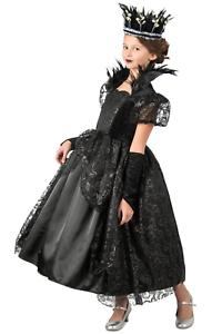 Midnight Queen Costume Dark Princess Paradise Chasing Fireflies Girls 10 12 L XL
