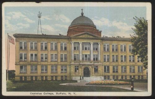 POSTCARD BUFFALO NYNEW YORK CANISIUS COLLEGE CAMPUS BUILDING 1910'S