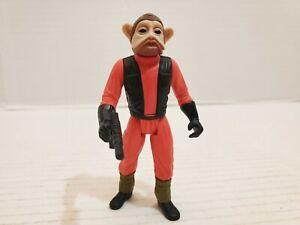 Star Wars Nien Nunb Aciton Figure Rebel X-Wing Pilot Kenner 1997 Blaster Loose