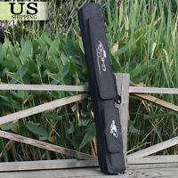 Fishing Rod Case Bag Holder Two-Layer Travel Organizer Tackle Tool Storage 120CM