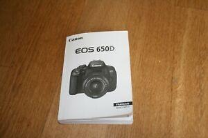 Mode-Demveronique-original-Canon-EOS-650d-Manuelle-mode-d-039-emploi-francais