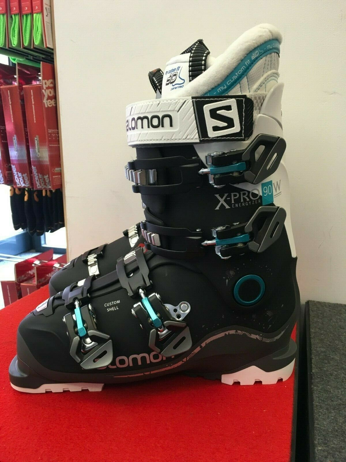 Salomon X Pro 90 Mens Ski Boots in