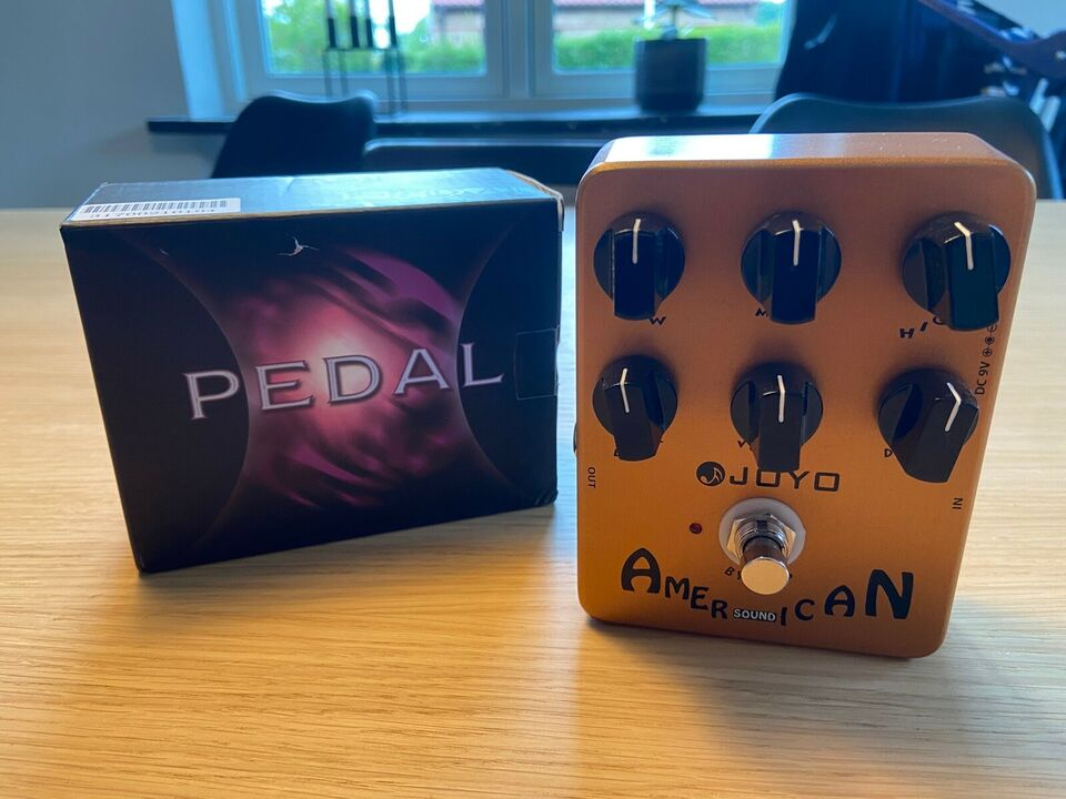 Overdrive / Amp in a box, Andet mærke Joyo American Sound