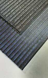 1x-Sohlenplatte-und-1x-Absatzplatte-Indiana-Gummiplatte-Dunkelbraun-Riffelprofil
