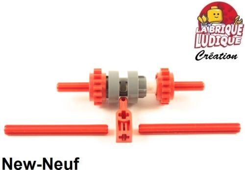 Lego technic 1x boite de vitesse type 3 gearbox gear engrenage driving ring NEUF