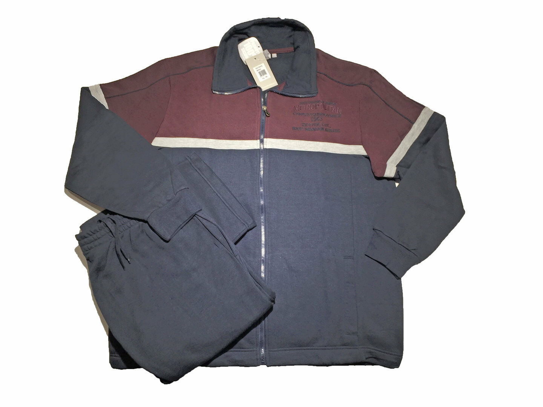 Giacca Da Camera Uomo Prezzo : Tuta completa uomo taglie grandi invernale giacca aperta aperta