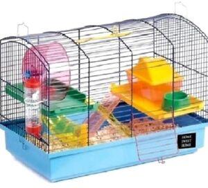 DELUXE-HAMSTER-KIT-50-x-28-x-32cm-Sharples-Pet-Animal-Cage-bp-Encloseure