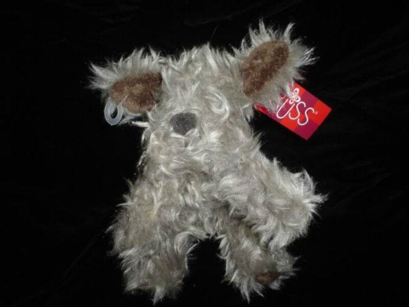 Russ Berrie Furly Terrier Dog Plush 24651 Original Tags