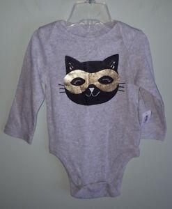 Old Navy Baby Girls 0-3 6-12 12-18 MONTH Fall Bodysuit ORANGE Halloween BOOTIFUL