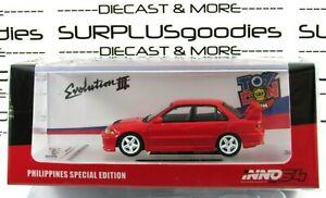 INNO64-Philippines-Toy-Con-MITSUBISHI-LANCER-EVOLUTION-III-EVO3-w-Extra-Wheels