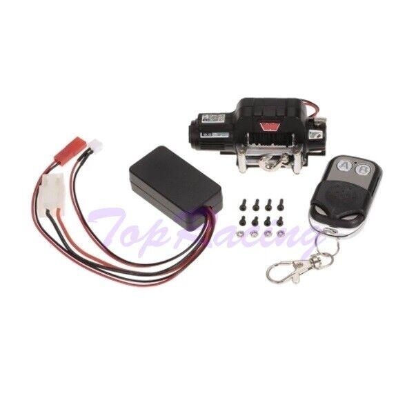 Warn 9.5CTI Winch w  Wireless Remote Controller Receiver for 1 10 Traxxas Hsp