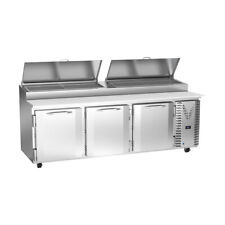 Victory Vpp93hc 93 Pizza Prep Table Refrigerated Counter