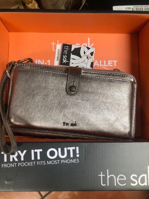 BUY 1 GET 1 FREE Sak Genuine Leather 3-in-1 Phone Wallet Crossbody Purse *******