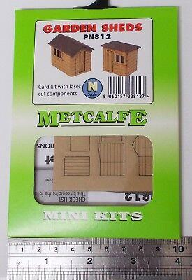 Metcalfe PN830 Market Stalls Die Cut Card Kit N Gauge 1st Class Post