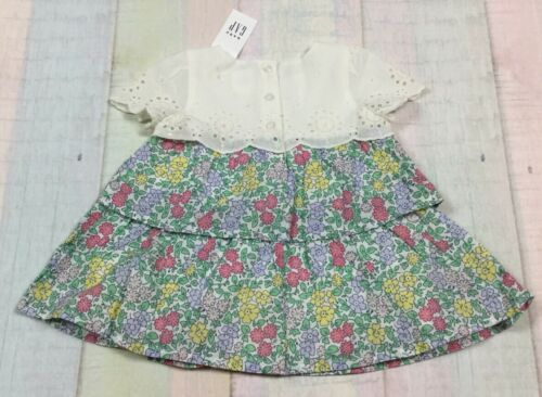 Nwt Floral Eyelet Dress With Bloomers Baby Gap Girls 0-3 Months Dress