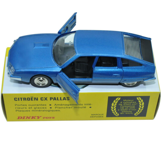 Atlas Dinky Toys 011455 Citroen Cx Pallas Car Model 1:43 Alloy Diecast Car model