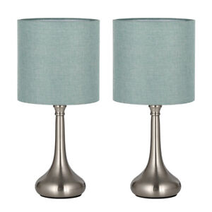 Haitral Table Desk Lamps Unique Modern Nightstand Set Of 2