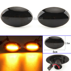 2X-LED-Side-Marker-Light-Turn-Signals-Repeater-For-Ford-Transit-Fiesta-Mondeo-KA