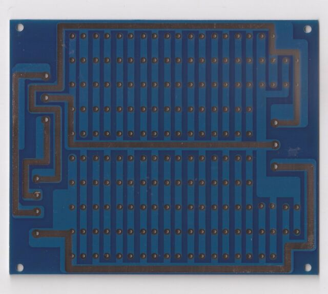 High speed low impedance PSU board bare PCB for preamp/headphone amp !