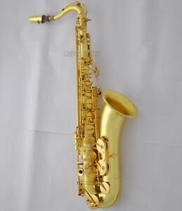 Customized-54-Reference-Tenor-Saxophone-Sax-Original-Brass-Surface-With-Case