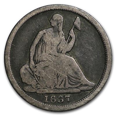 1837 Liberty Seated Half Dime Small Date VG SKU#188273
