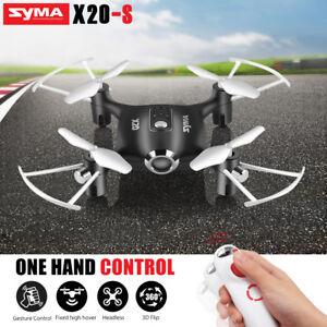 Syma-X20-S-Single-Hand-Control-Micro-RC-Drone-Mini-RC-Quadcopter-Helicopter-AU