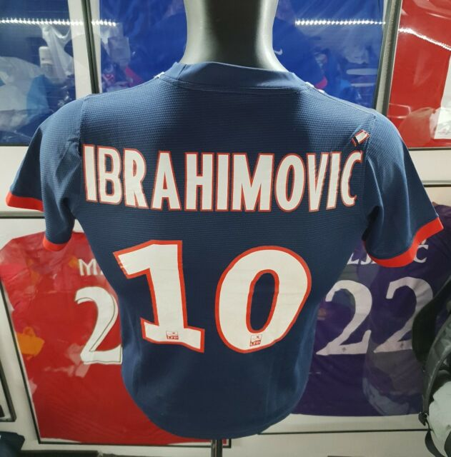 Maillot jersey maglia camiseta trikot shirt PSG neymar ibrahimovic 2013 2014 XS