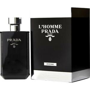 Prada Lhomme Intense Edp Eau De Parfum Spray For Men 100ml 34floz